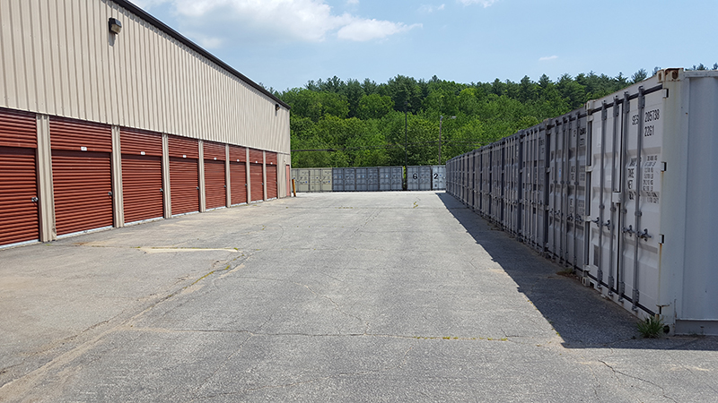 storage units and doors