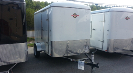 Multiple 6x10 trailers on our lot